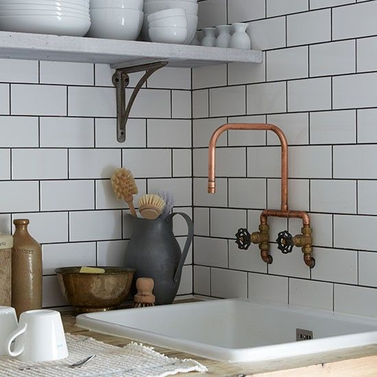 Victorian Terrace Flat In London House Tour Ideal Home Victorian Apartment Industrial Style Kitchen Trendy Kitchen Tile