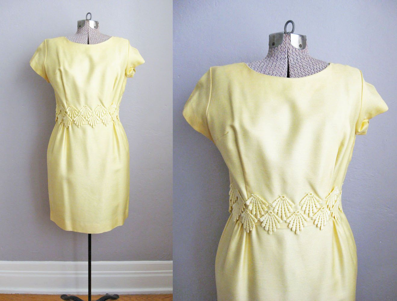 S yellow dress s wiggle dress s dress embroidered
