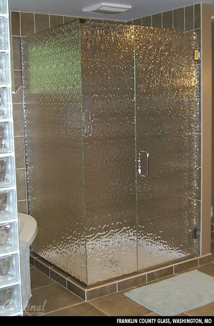 Textured Glass For Shower Enclosure Textured Glass