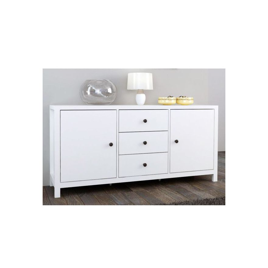 Natalie Buffet Unit With Drawers U0026 Cupboards   Low Line, Use Top Flat  Surface