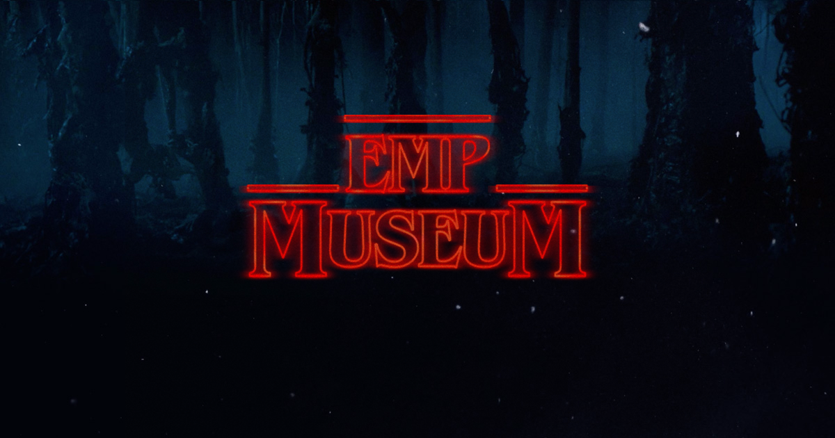 Check out my Stranger Things inspired logo. From the