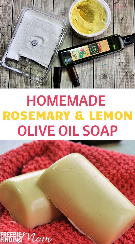 Homemade Olive Oil Soap Recipe in 2020 Olive oil soap