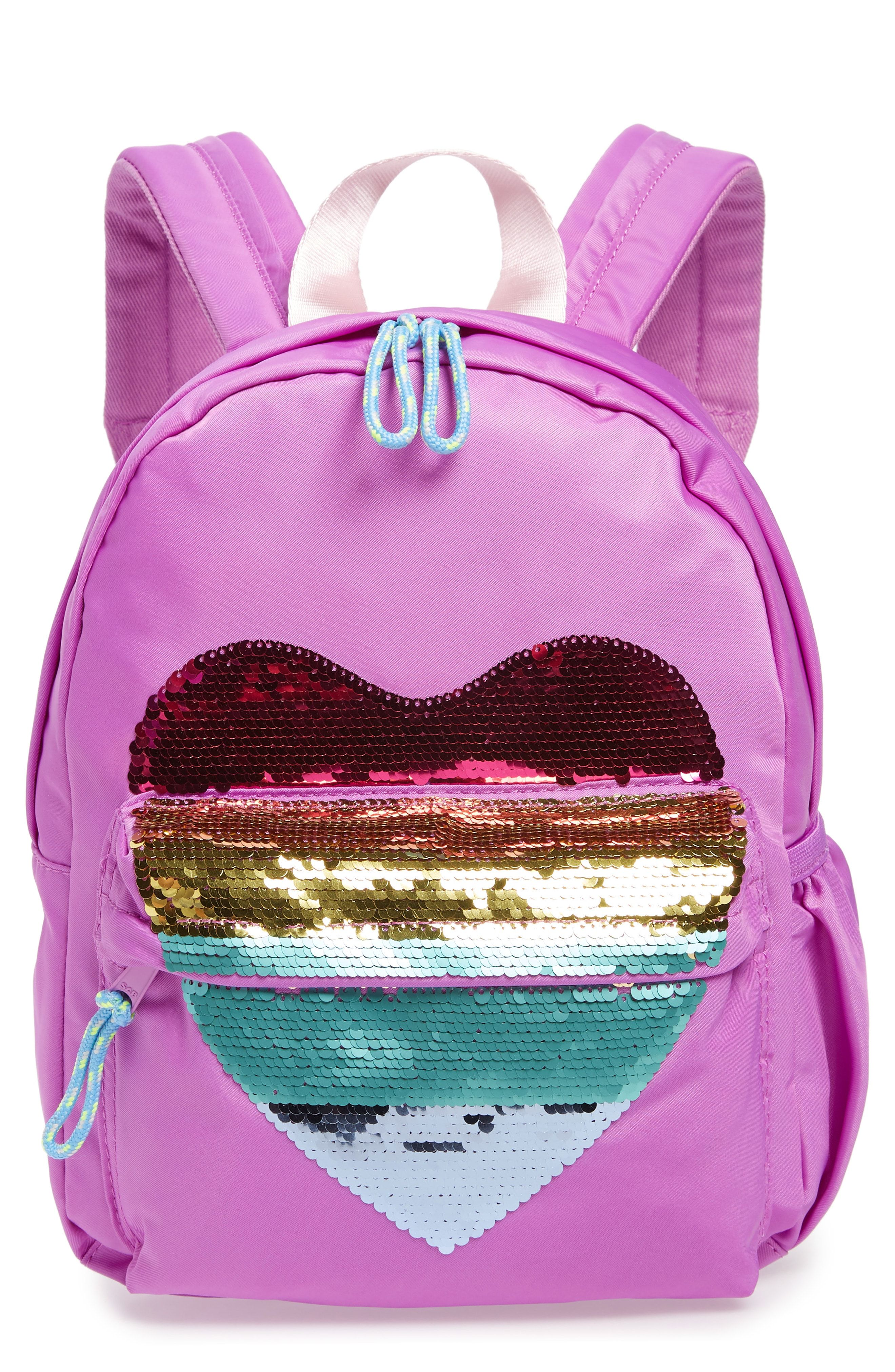 49b60193a48a crewcuts by J.Crew Sequin Heart Backpack available at  Nordstrom ...