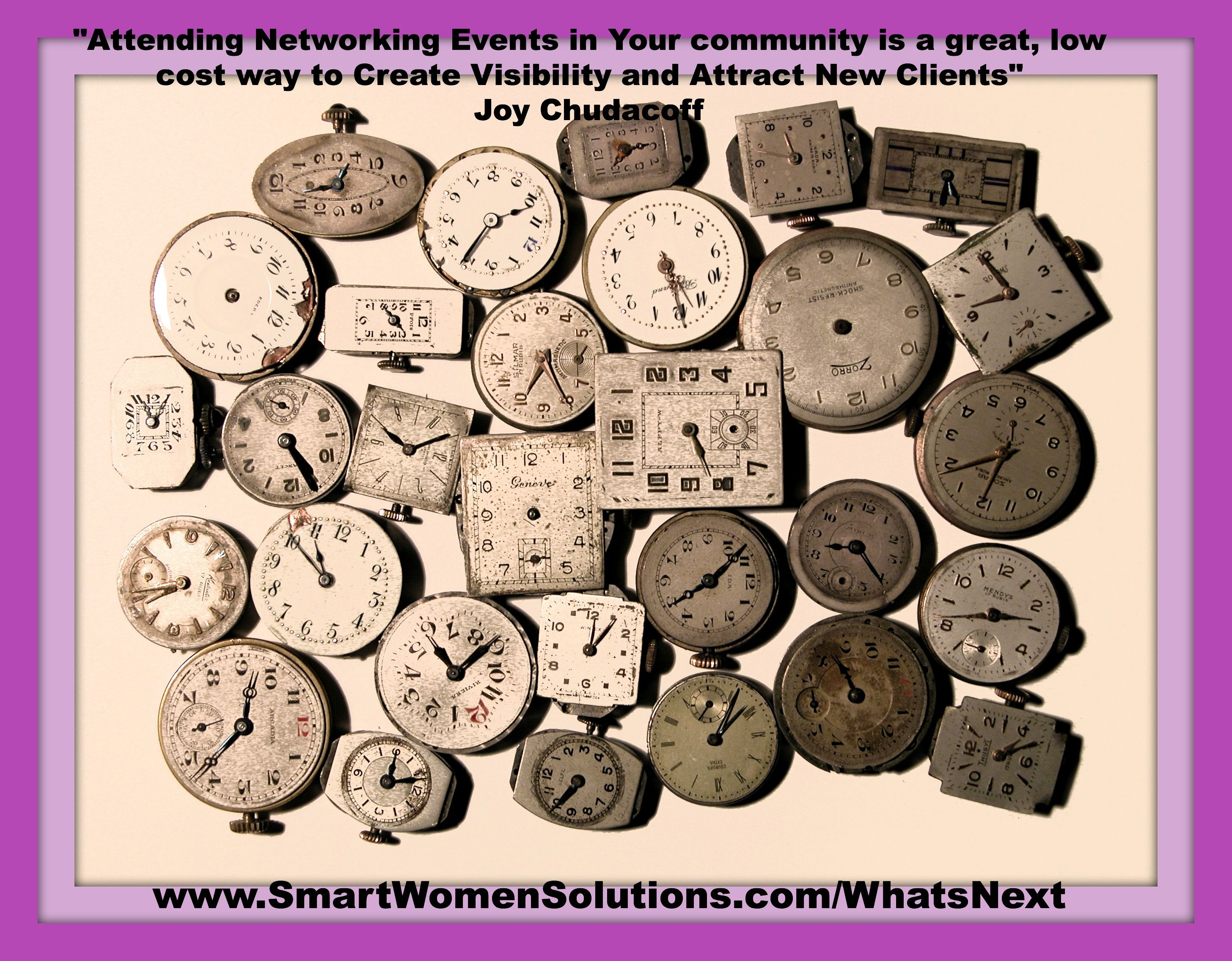 """QUESTION: How do You take advantage of Networking? • Meeting others who also have Dreams. • Join the Journey and Discover """"Whats Next?: The 7 Steps to Discover Your Big Idea and Create a Wildly Successful Business"""""""
