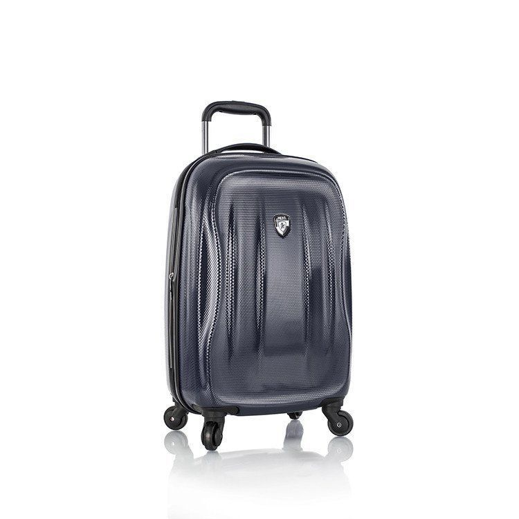 Heys Luggage SuperLite Carry-on Hardcase Suitcase Spinner Midnight Blue 21 Inch