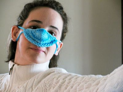 Knit Swurl Nose Warmer Knitted Nose Warmer Pinterest Nose