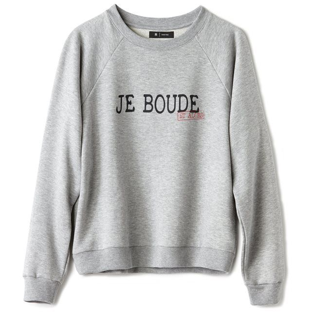 nouveaux styles aded0 58ae6 Sweat femme | Simply things! | Pull avec ecriture, Sweat ...