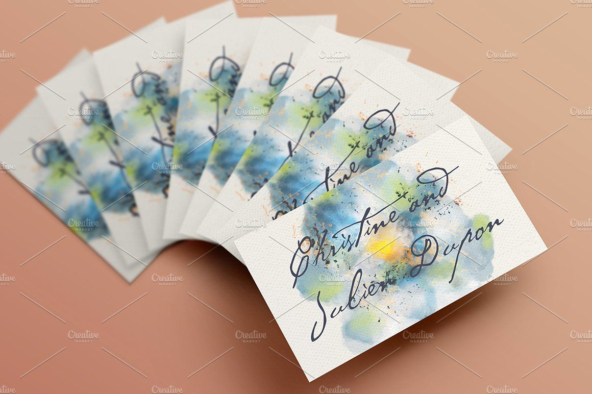 Dreamy Watercolor Wedding Suite III | Wedding suite, Watercolor ...