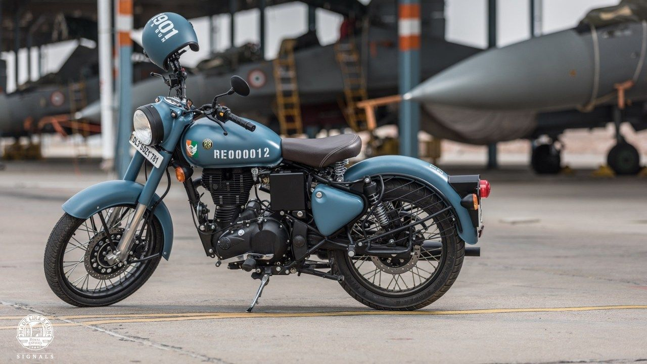 Royal Enfield Signals Hd Wallpaper Enfield Classic Bullet Bike