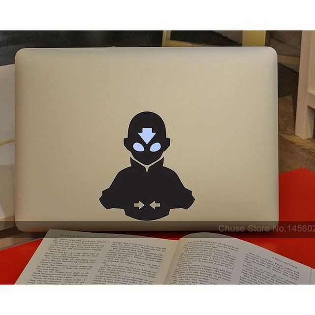 The last airbender avatar anime computer laptop decal sticker for macbook air pro retina 11 12 13 15 cover skin on notebook