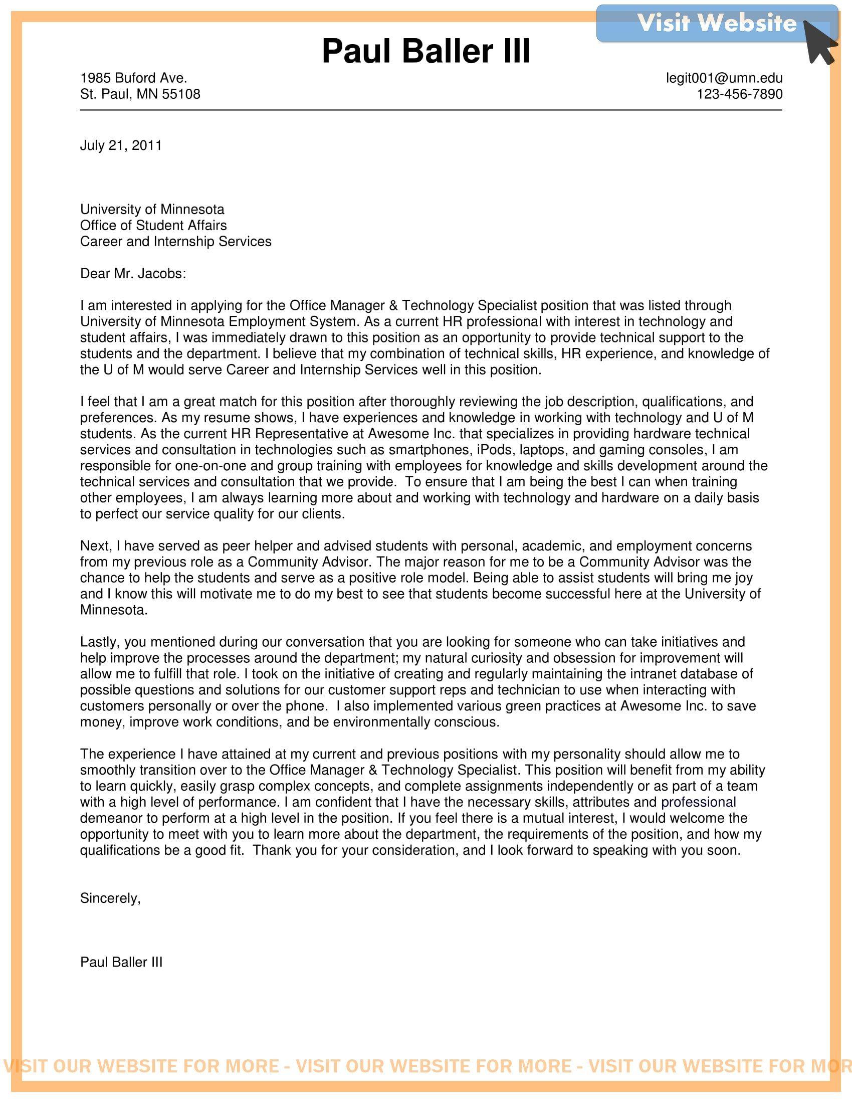 sample cover letter for mba program in 2020 Cover letter