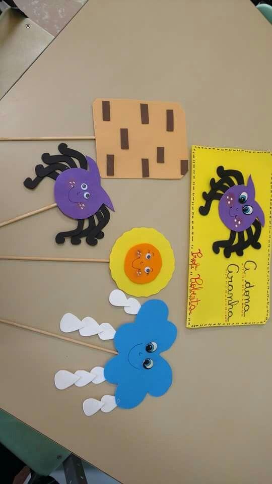 Dona Aranha Com Imagens Arte Educacao Infantil Parlendas