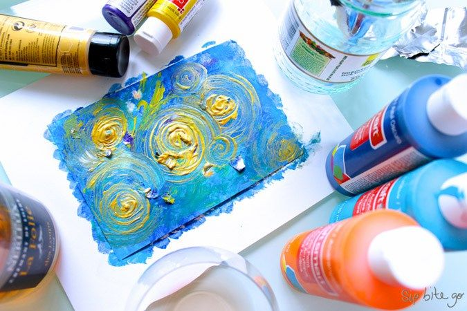 Abstract Photography For Beginners 9 Tips For Capturing: Abstract Art DIY Tutorial For Beginners (with Acrylics