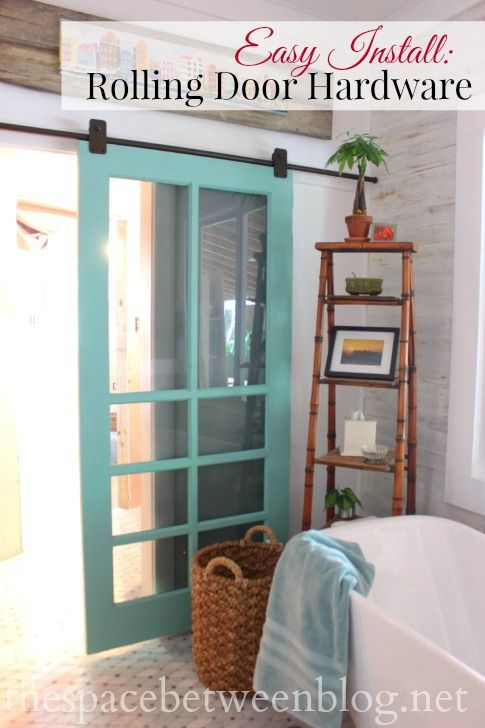 Great step-by-step instructions for installing rolling door hardware. There are a few keys you need to look out for and this tutorial clears them up.