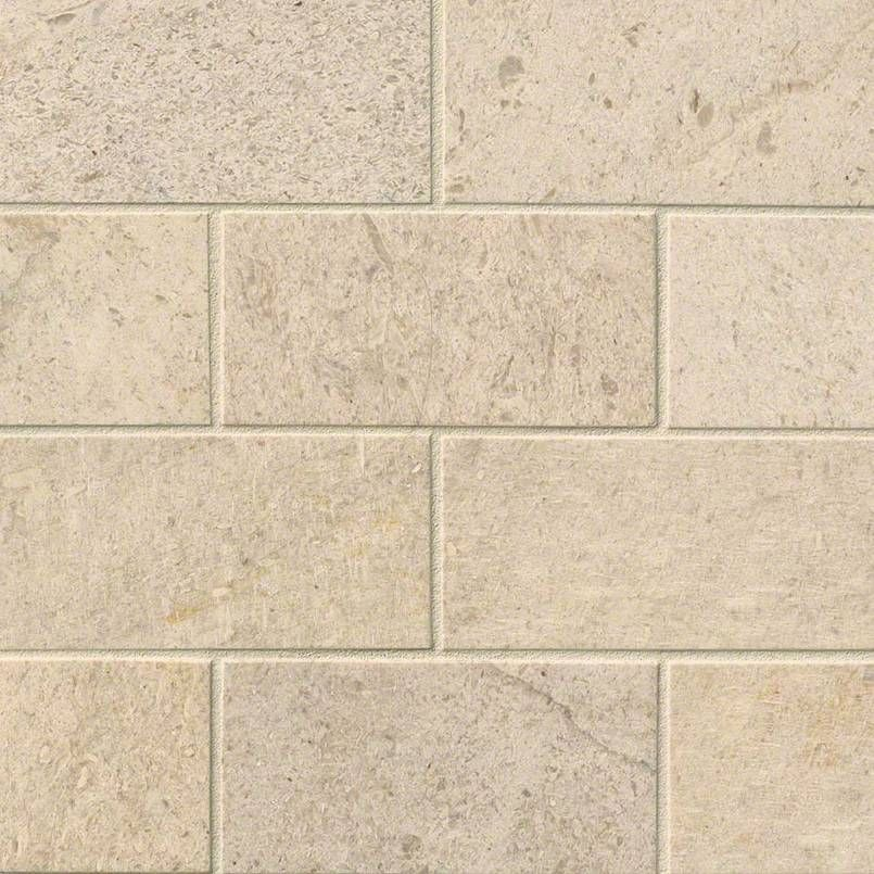 Oastal Sand Subway Tile 3 X 6 Honed Limestone Tiles Are A Neutral