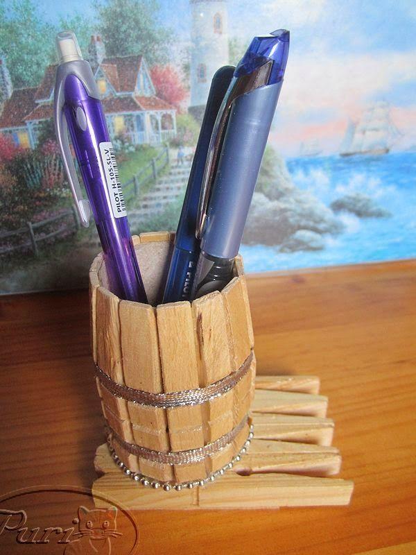 Manualidades con pinzas de madera buscar con google - Trabajos manuales de madera ...