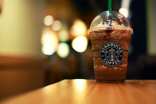 coffee, drink, food, starbucks