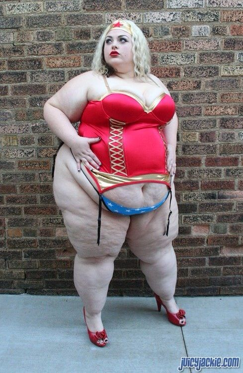 Super sized big beautiful woman