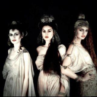 The Norns Urd(Crone/Past), Verdandi(Mother/Present) & Skuld(Maiden/Future)