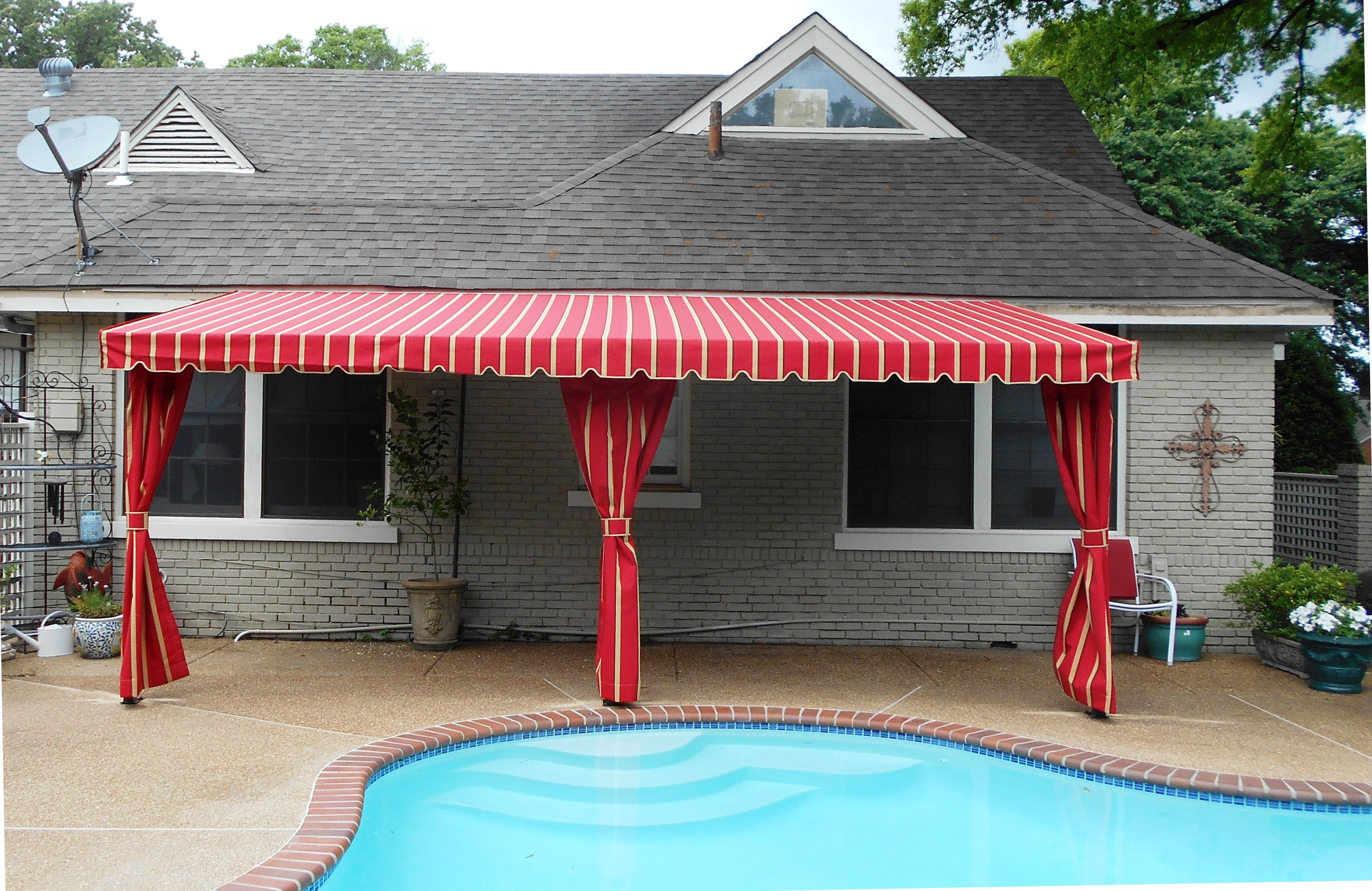 patio of stationary exteriors awnings asheville for nc residential air fabric vent decks gallery awning