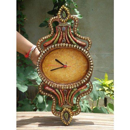 Designer Wall Clock Online Shopping For Clocks By Zest Decor Handmade Clocks Wall Clock Design Diy Art