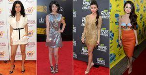 A mudança de estilo de Selena Gomez após o namoro com Justin Bieber - Visual de Selena Gomez mudou radicalmente após o início do namoro com Justin Bieber. Veja a evolução da artista dos looks florais para as peças mais sexy!