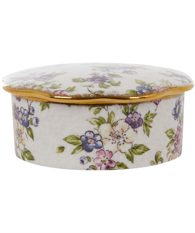 Decorative Boxes Uk English Chintz Trinket Box Wedgwoodshop The Wedgwood Collection