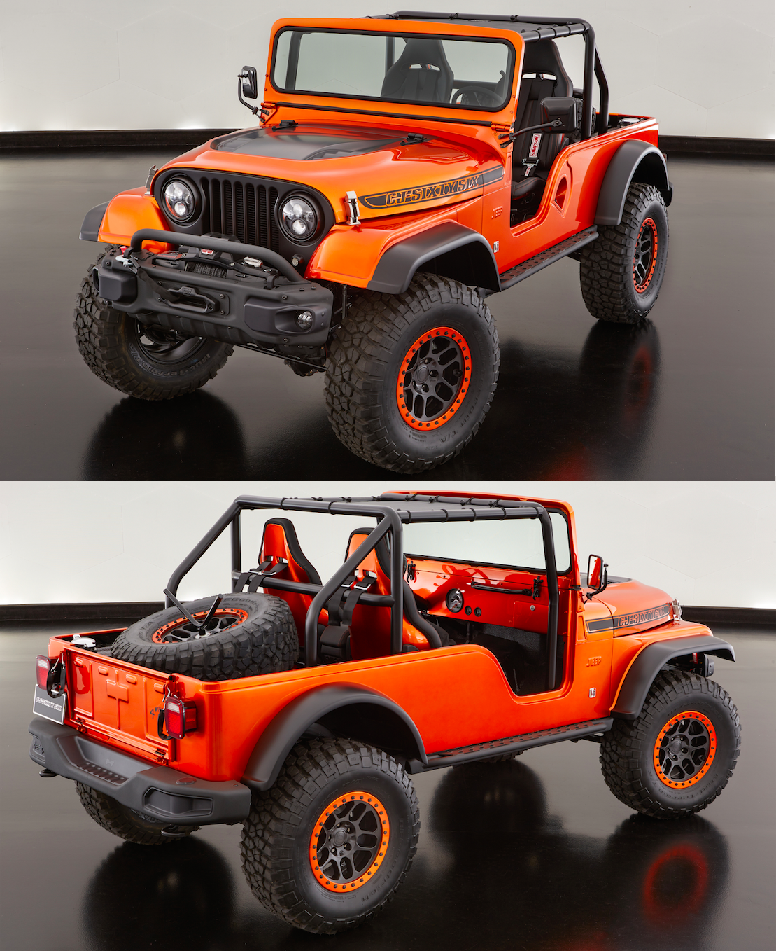 Jeep Built A Modern Cj 6 And It Looks Incredible Jeep Cj Jeep
