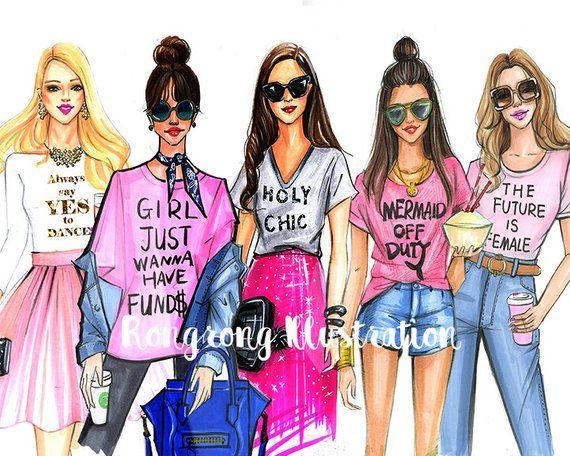 Special Edition- Pink Fashion illustration,Fashion art,Fashion wall art,Chic wall art, Fashion print,fashion poster,Titled,Fashion ladies