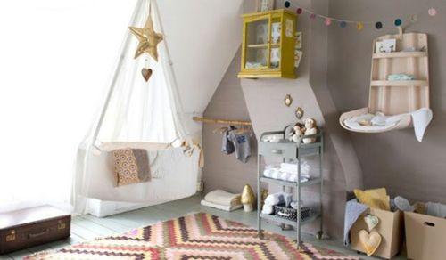 Babyzimmer komplett grau  Babyzimmer komplett gestalten - 25 kreative und bunte Ideen ...