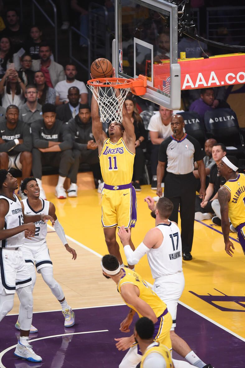 Photos Lakers Vs Grizzlies 10 29 19 Los Angeles Lakers In 2020 Los Angeles Lakers Lakers Vs Sports Models