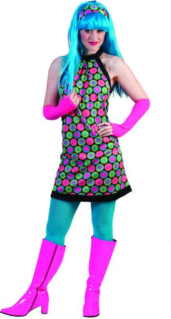 e10e3f3f715 Funkadelic Retro 70s Dress Costume - Get down next Saturday night ...