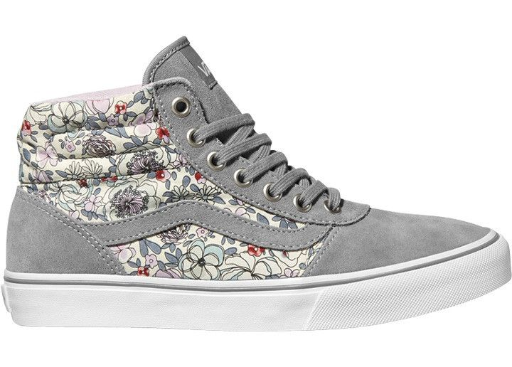 Vans Milton Hi, Women's High Top Sneakers Grey (vintage