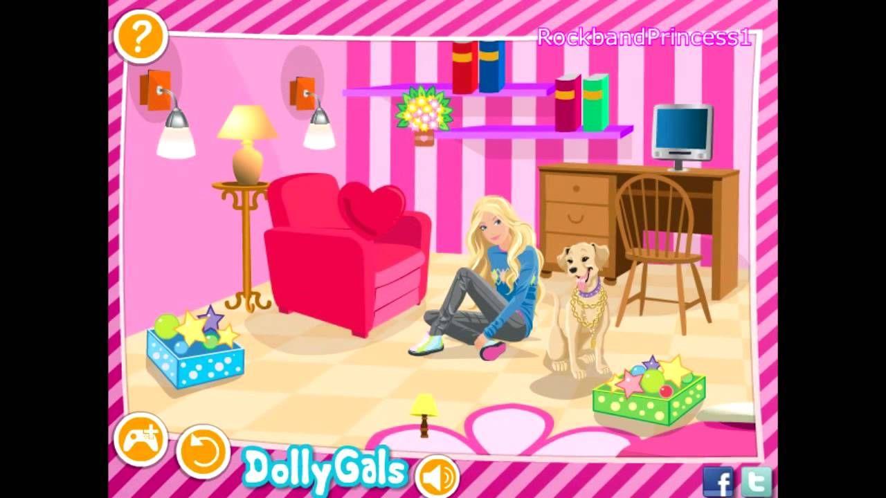 Y8 barbie room decoration games for Bedroom makeover games for girls