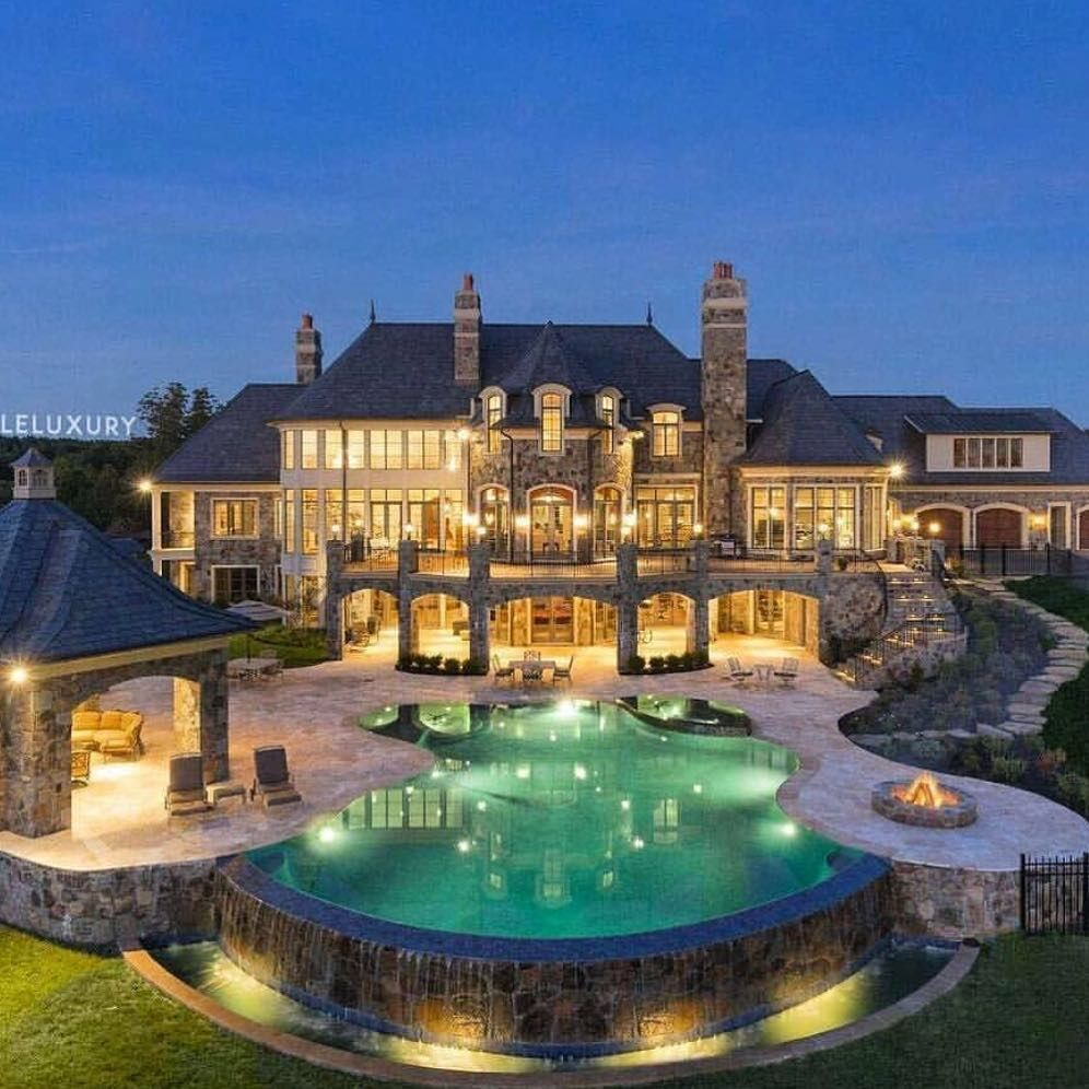 In Ground Hot Tub Design Ideas Mansions Dream Mansion Fancy Houses
