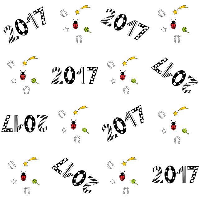 Free digital 2017 scrapbooking paper - ausdruckbares Geschenkpapier - freebie | MeinLilaPark