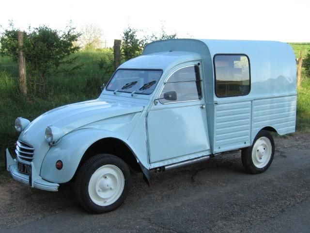 2cv fourgonnette pieces