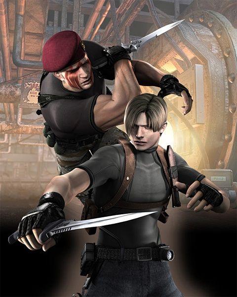 Resident Evil 4 Concept Art Neoseeker Resident Evil Leon
