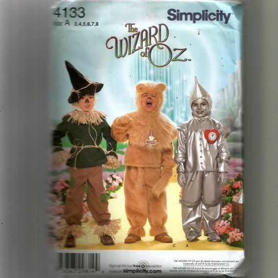 a77d998fb Simplicity Child's Costumes Pattern 4133   Products   Halloween ...