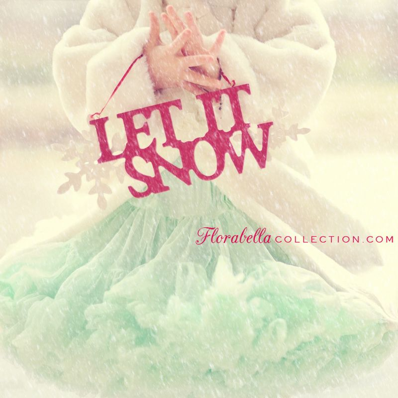 Free Overlay for Snow!! Florabella Collection {Photoshop Actions
