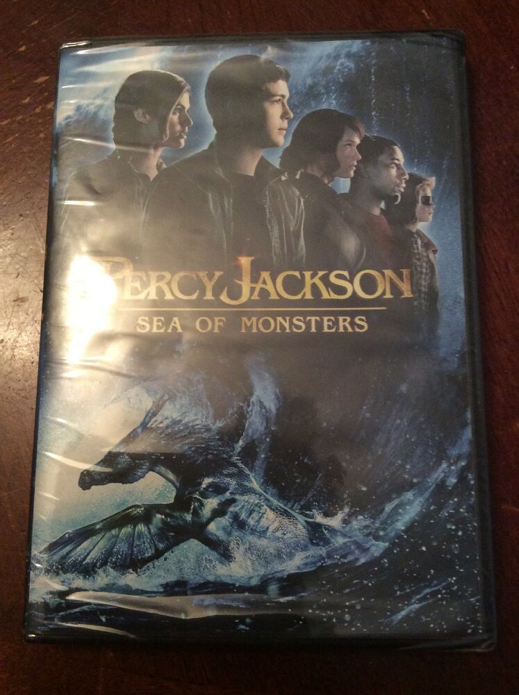 Percy Jackson Sea of Monsters (DVD, 2013) NEW