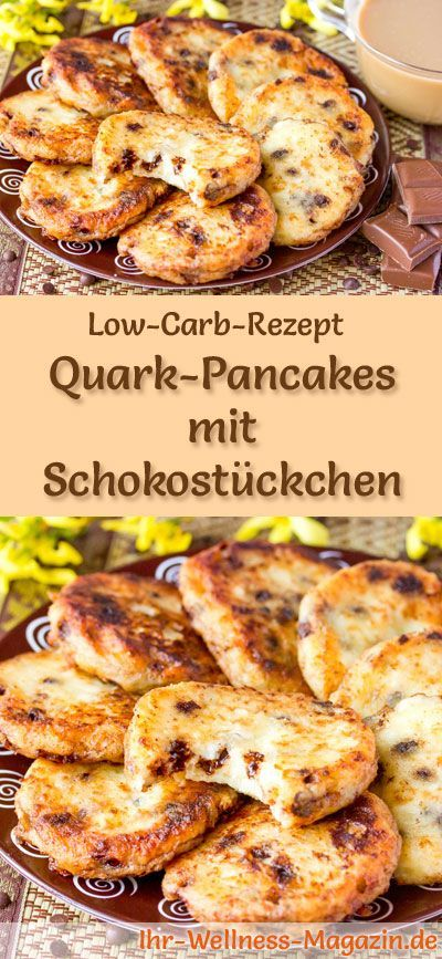 low carb quark pancakes mit schokost ckchen fr hst ck di t pinterest fr hst ck essen. Black Bedroom Furniture Sets. Home Design Ideas
