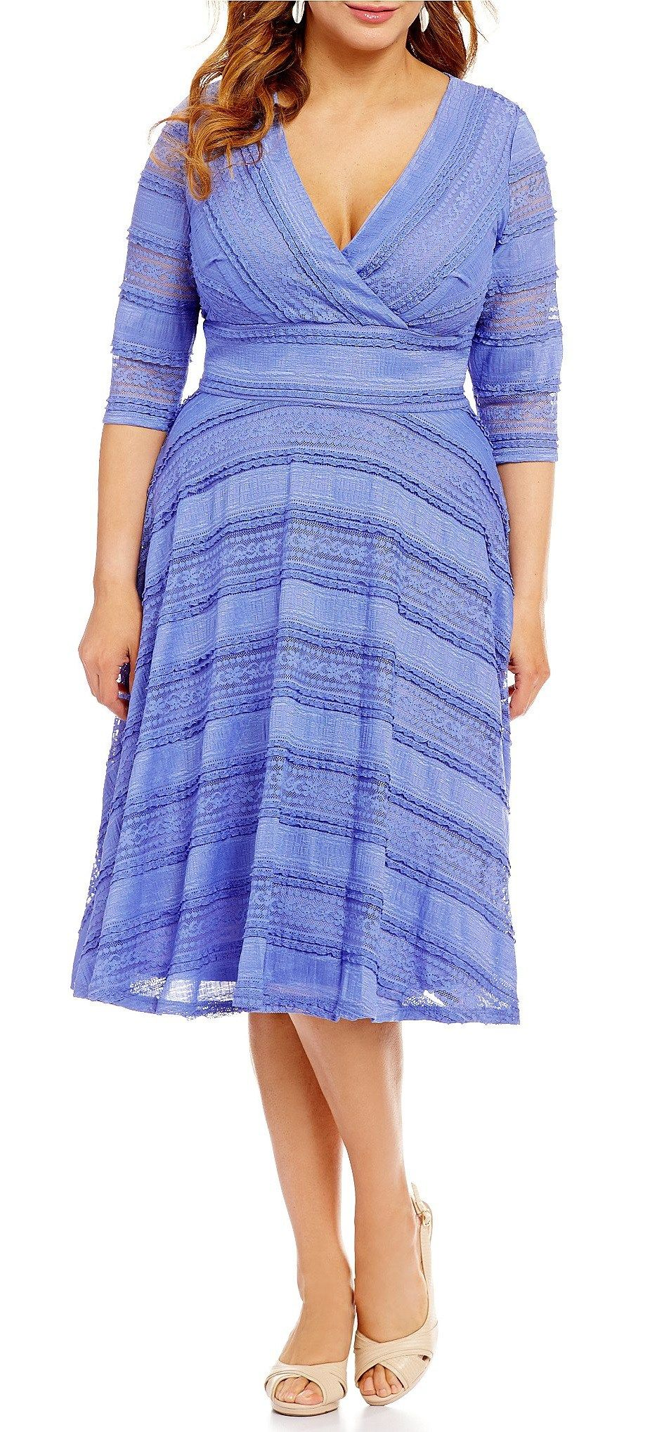 45 Plus Size Wedding Guest Dresses {with Sleeves | Moda para damas ...