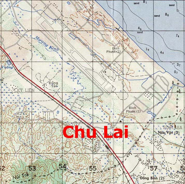 April 12, 1967 The enemy attacked the Chu Lai airfield with 30 40