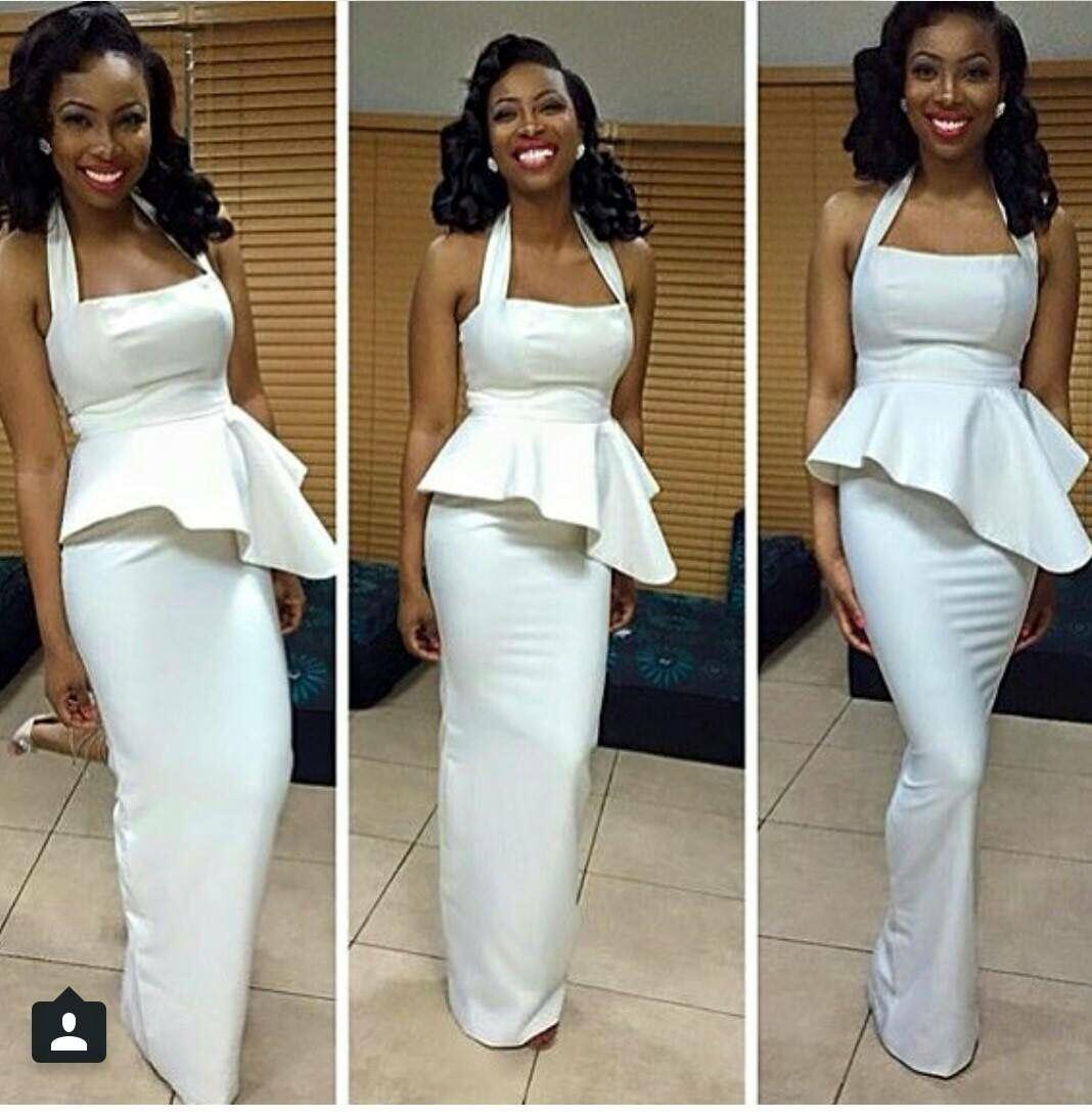 African wedding dresses for guests  Curve appeal  Potential vow renewal ideas  Pinterest  Curves