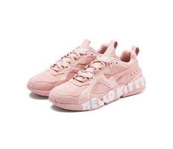PUMA x Hello Kitty Nova Trainers   Hello kitty shoes, Hello