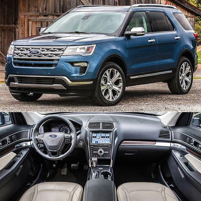 Ford Explorer Limited Luxury Edition 2019 Comemorando Sua Posicao Como A Marca De Veiculos Mais Vendida Ford Explorer Ford Explorer Limited 2019 Ford Explorer