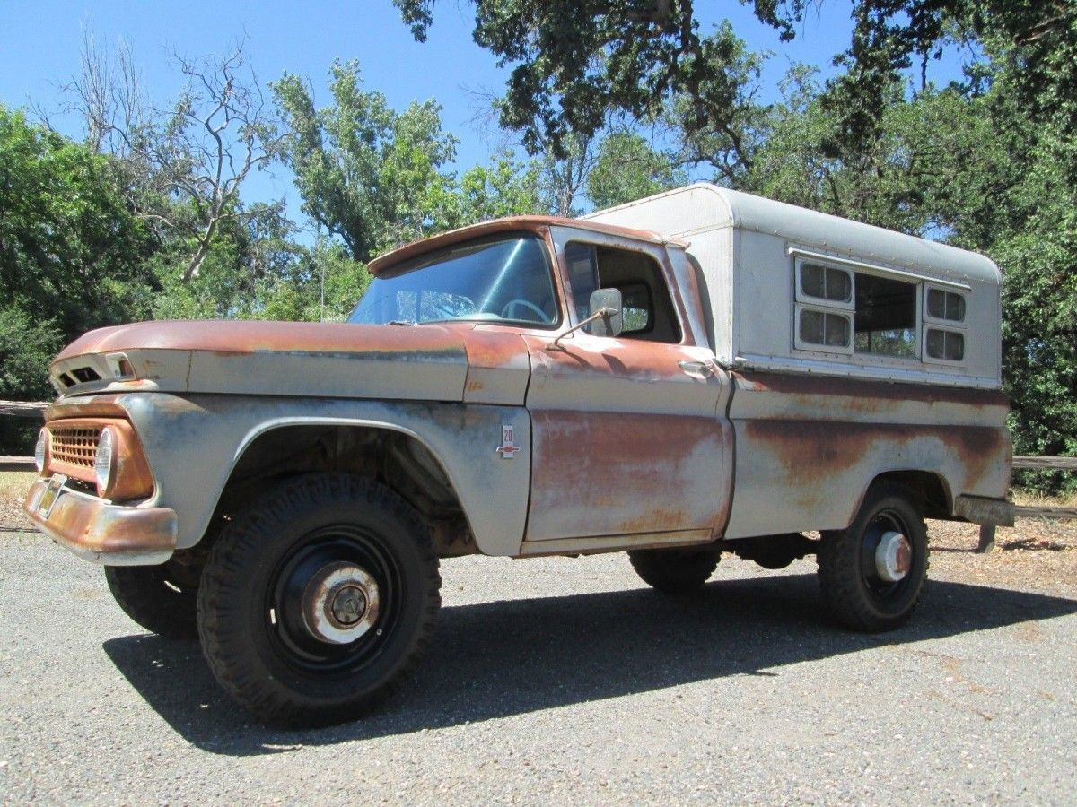 1963 Chevrolet K 10 Factory Four Wheel Drive Classic Trucks