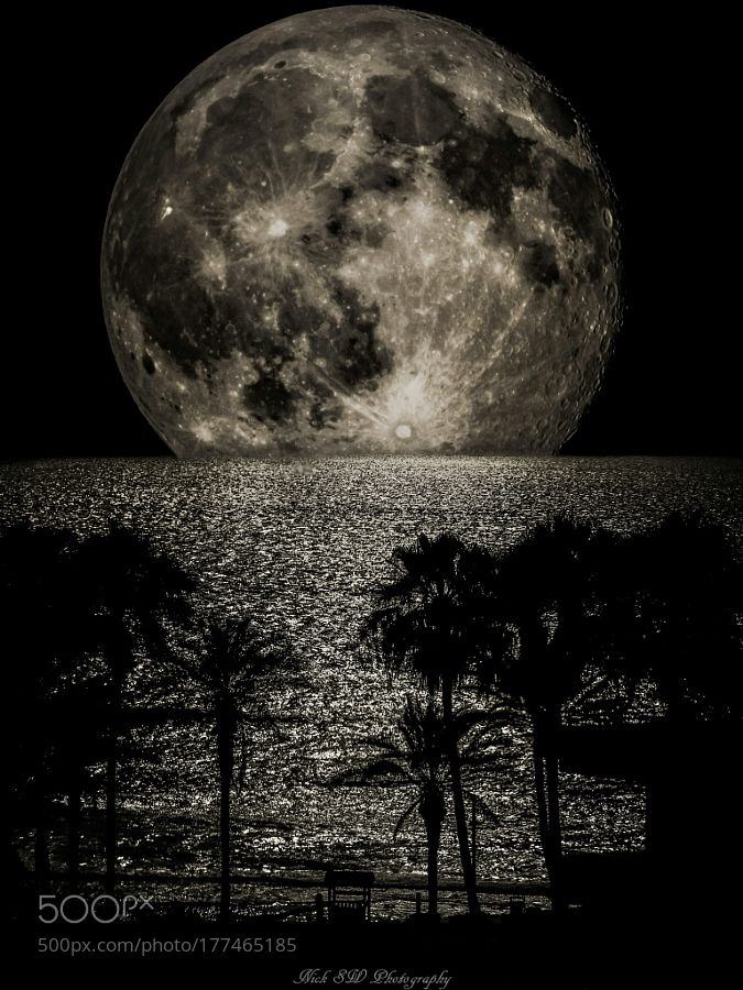 Big Moon by NickSW