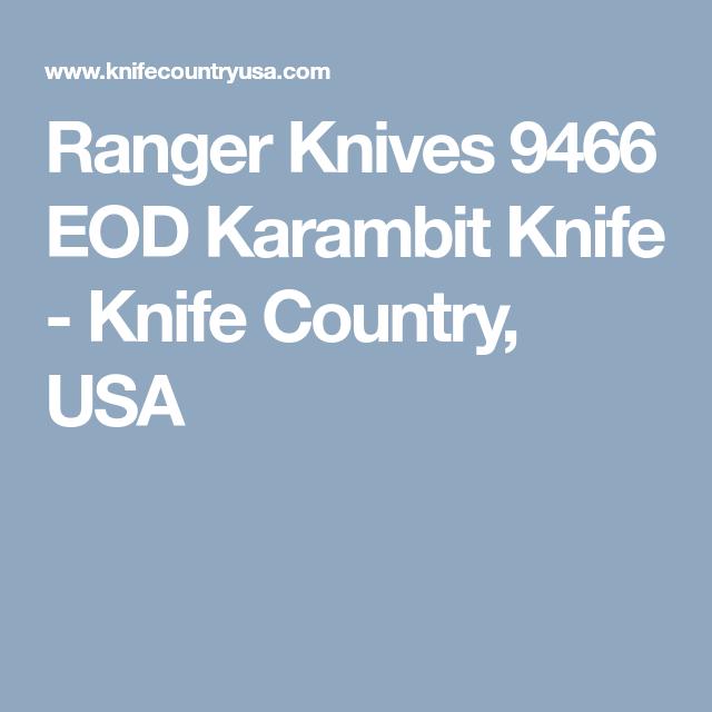 Ranger 9466 EOD Karambit Fixed Blade Knife | knives | Fixed